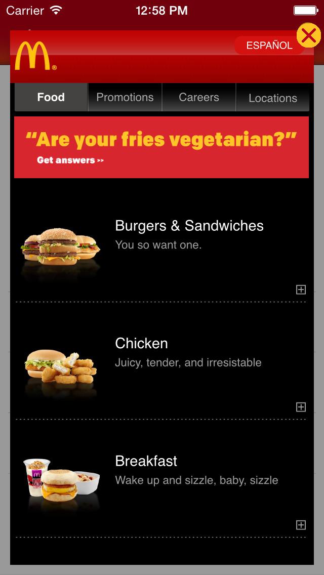 McDonald's® Ambassador screenshot 4