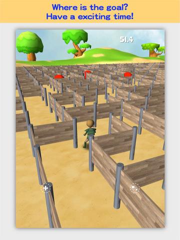 3D Maze Robo FREE screenshot 7