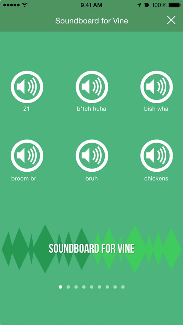 VSounds: The Best Soundboard for Vine screenshot 1