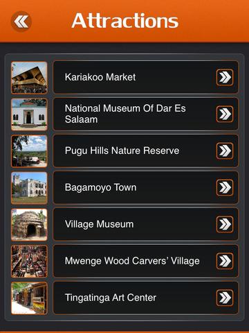 Dar es Salaam City Offline Travel Guide screenshot 8