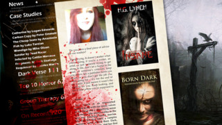 Sanitarium Magazine: Horror Fiction, Dark verse and Macabre Entertainment screenshot 3