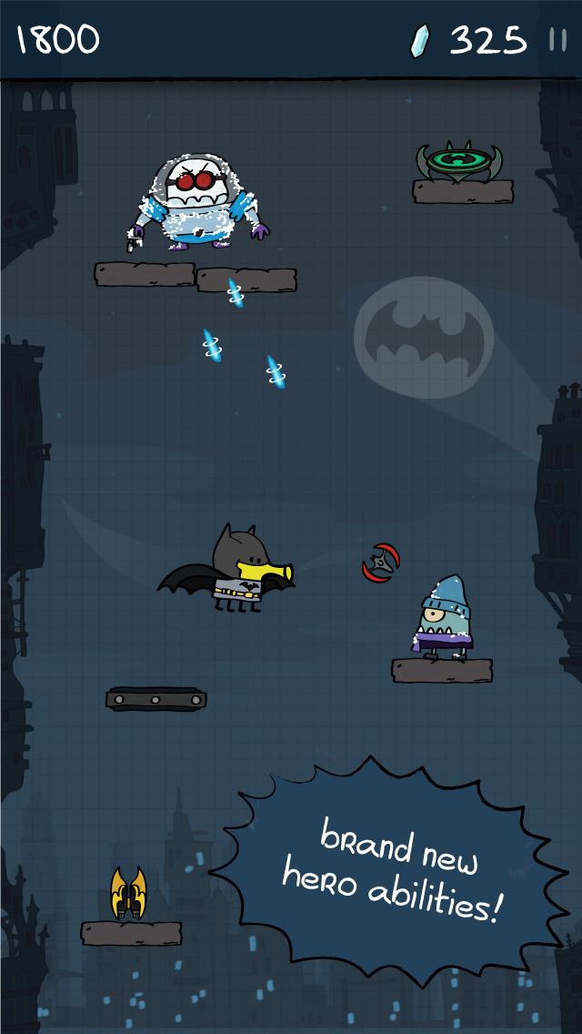 Doodle Jump DC Super Heroes screenshot 2