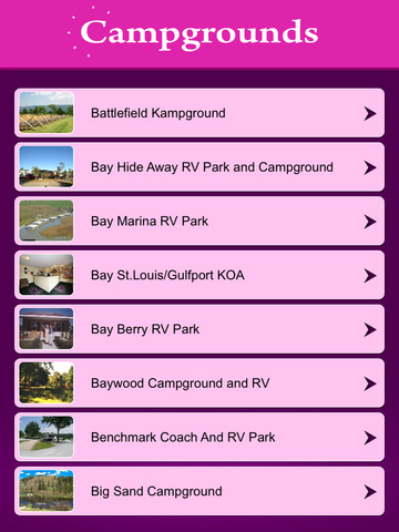 Mississippi Campgrounds Guide screenshot 7