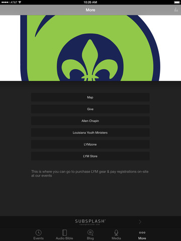 Louisiana Youth Ministries screenshot 6