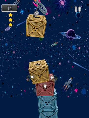 A Space Frontier Crane Stacker Game Pro Full Version screenshot 7