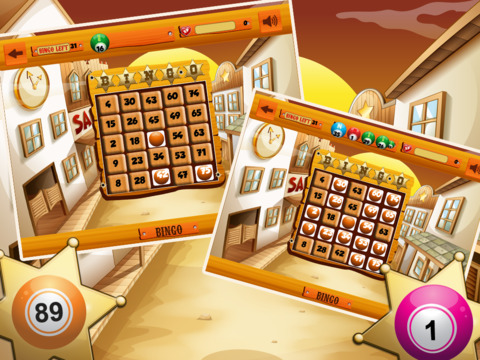 Wild West Bingo Shootout Pro screenshot 8