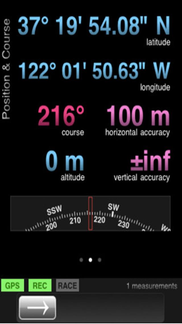 Intuitive GPS Tracker. GPS Tracking screenshot 2