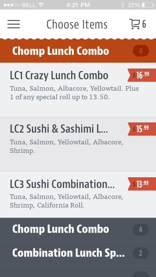 Chomp Sushi screenshot 3