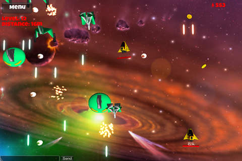 Multiplayer Space Shooter - náhled