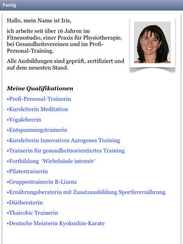 Beckenboden Audio Training screenshot 8