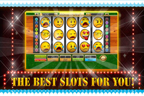 Attack of Emoticon Slots Casino Free - náhled