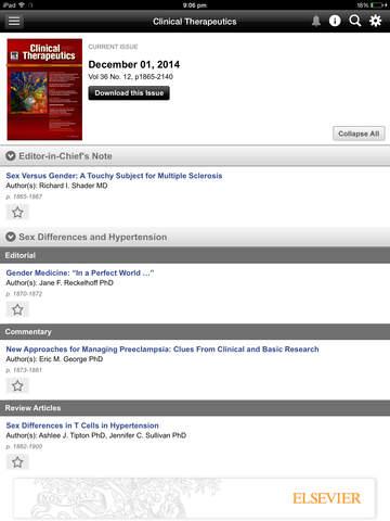 Clinical Therapeutics screenshot 7