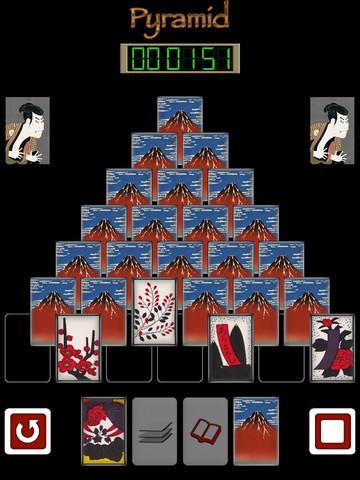 Pyramid of Japanese playing cards PVN screenshot 6
