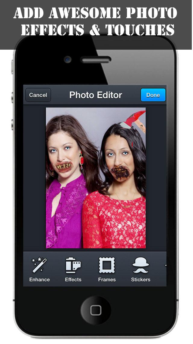 Zombie Booth - 3D Zombify Friends Face Makeup, Halloween Photo Effects Editor screenshot 4