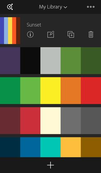Adobe Color CC – capture color themes screenshot 4