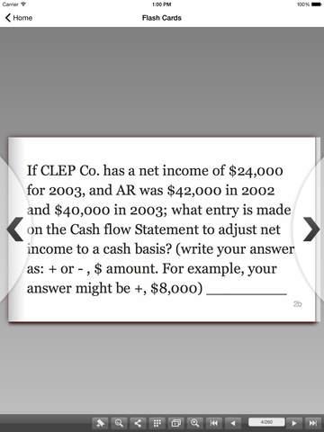 CLEP Financial Accounting Prep screenshot 9