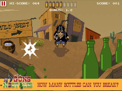 Guns n' Bottles - The fastest fingers in the west screenshot 7