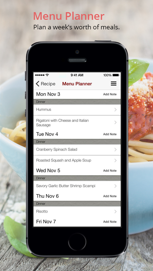 BigOven Recipes & Meal Planner screenshot 4