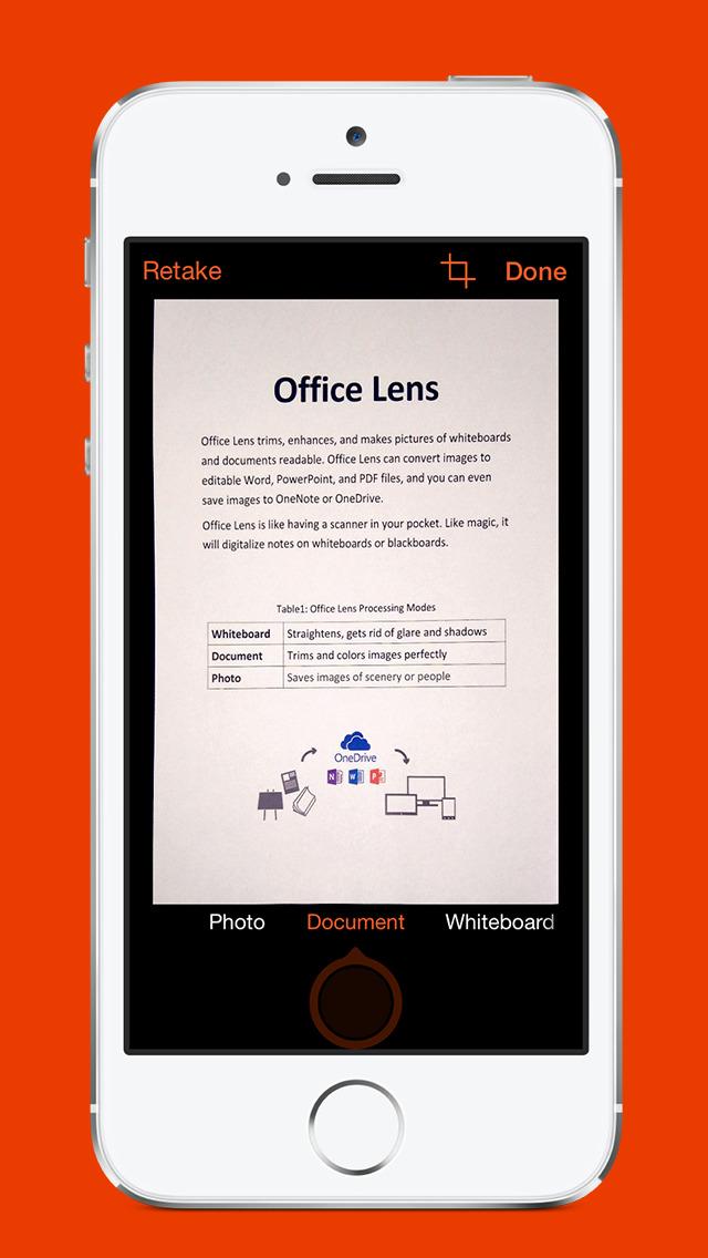 Microsoft Office Lens PDF Scan screenshot #2
