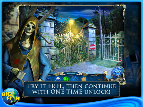 Hallowed Legends: Ship of Bones HD - A Haunted Mystery Game screenshot 1