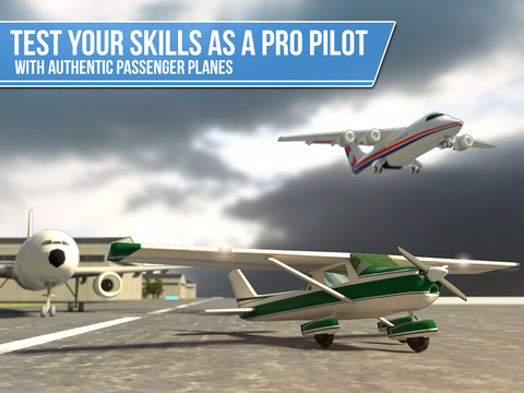Pilot Test 3D - Transporter Plane Simulator screenshot 6