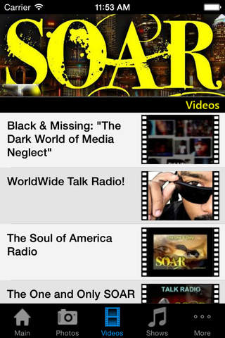 Soul of America Radio - náhled