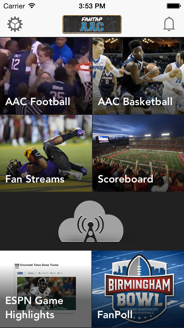 FanTap Sports: AAC screenshot 1