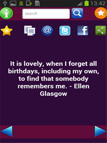 Birthday Quotes screenshot 4