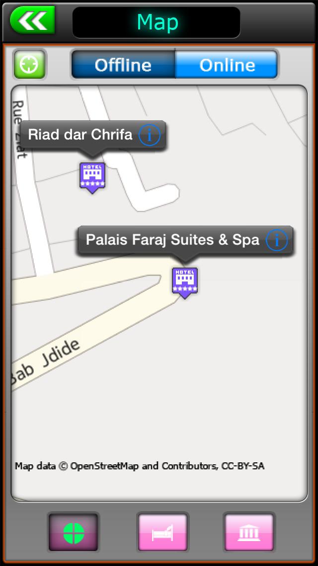 Fez Offline City Explorer screenshot 2