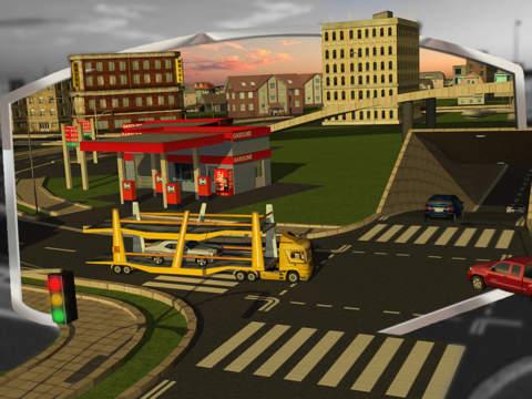 Car Transport Trailer 3D screenshot 6