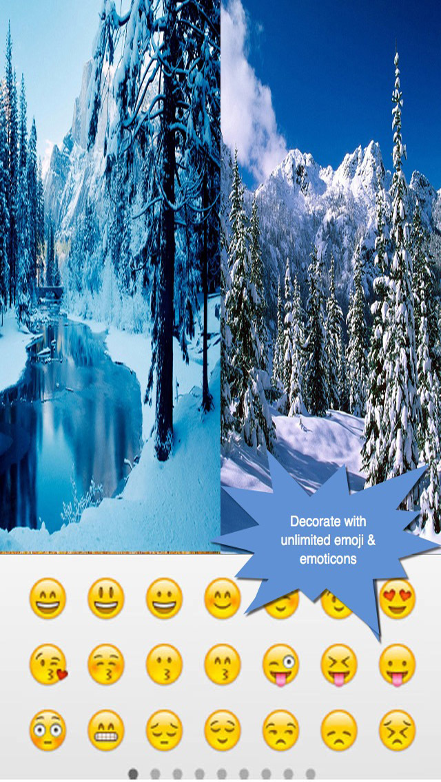 Happy Winter Greeting Cards.Happy Winter e-Cards.Christmas Greeting screenshot 4