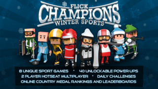 Flick Champions Winter Sports screenshot 1