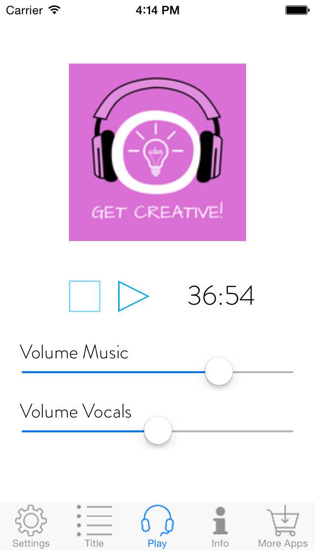 Get Creative! Kreativität steigern mit Hypnose screenshot 3