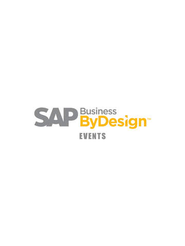 SAP Business ByDesign Events screenshot 3