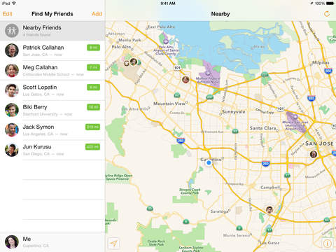 Find My Friends screenshot #1