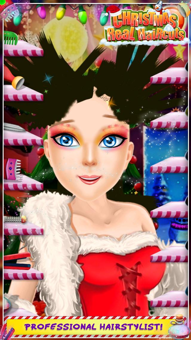 Christmas Real Haircuts screenshot 3