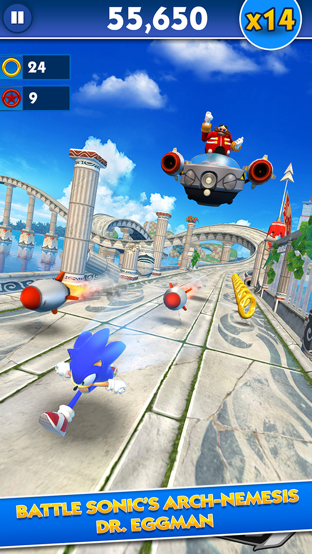Sonic Dash - Endless Runner screenshot 1