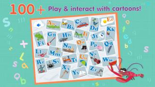 ABCs alphabet phonics games for kids based on Montessori learining approach screenshot 3