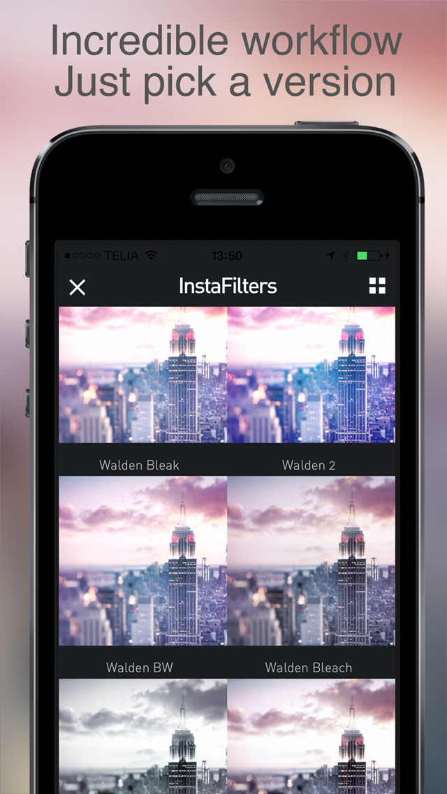 InstaFilter Pro Photo Editor for Instagram screenshot 2