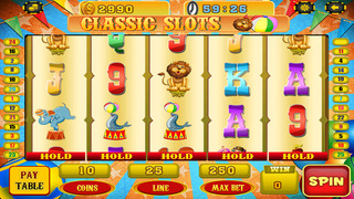Ace Circus Slots - Jackpot Casino Games Free screenshot 2