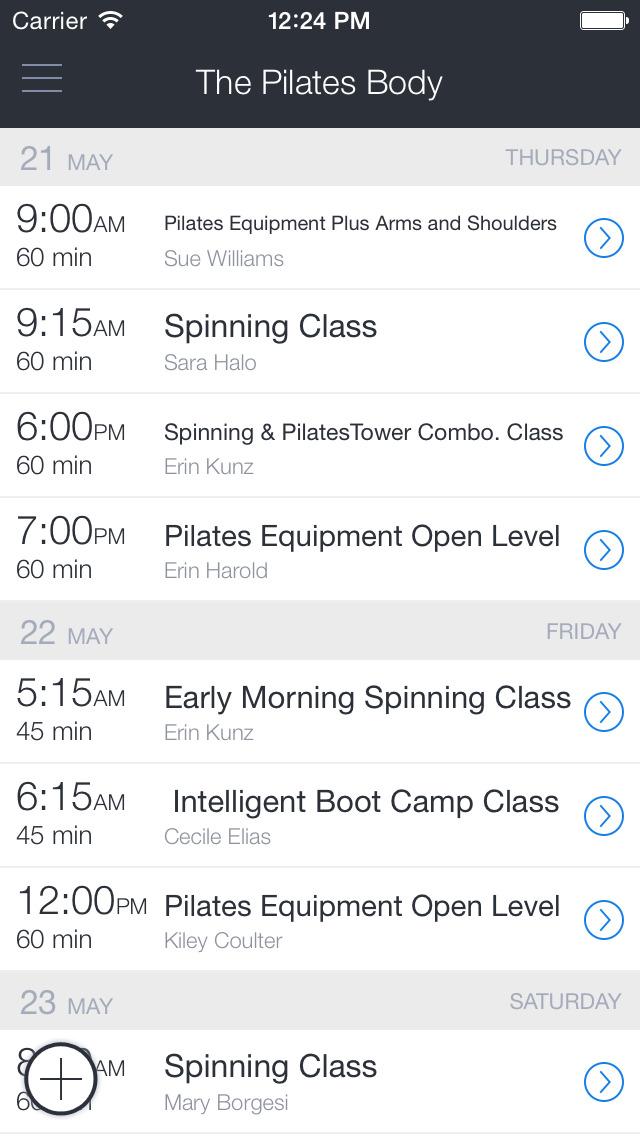 The Pilates Body - Peters Twp screenshot 1