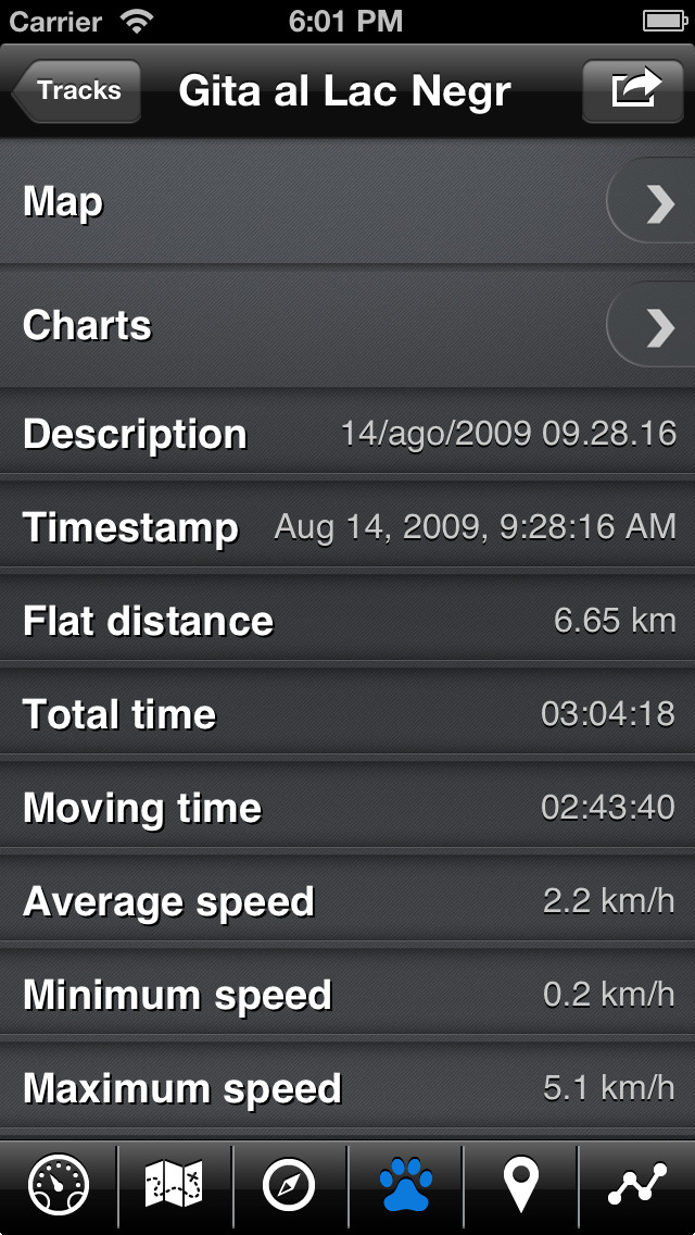 EasyTrails GPS screenshot 5