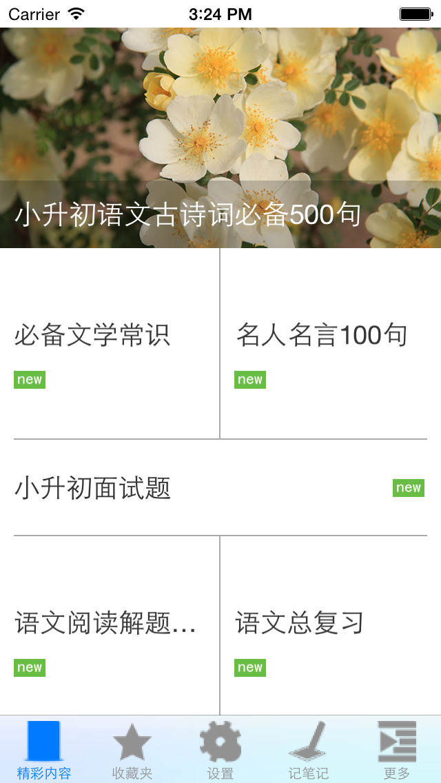 小升初语文必备资料大全 screenshot 2