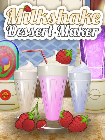 Ice Cream Milkshake Smoothie Dessert Drink Maker screenshot 5