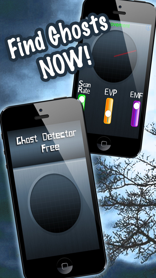 Ghost Detector Free - The Free Paranormal Scanner screenshot 1