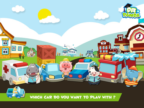Dr. Panda's Toy Cars screenshot 8