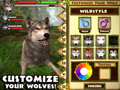 Ultimate Wolf Simulator screenshot 10