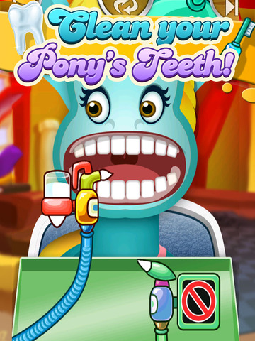 ' A Little Pony Dentist Magic Tooth Doctor - Teeth Fixer Game screenshot 9