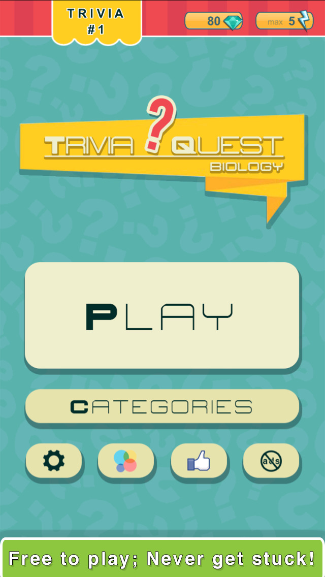 Trivia Quest™ Biology - trivia questions screenshot 3