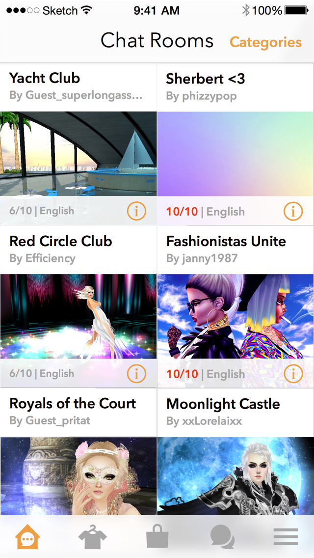 IMVU: 3D Avatar Creator & Chat screenshot 3